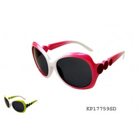KIDS OMBRE OVERSIZE ROUND SUNGLASS