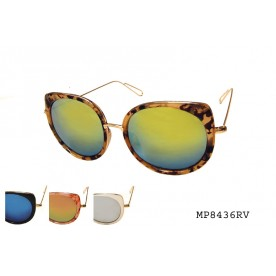 FASHION COLOR MIRROR SUNGLASS