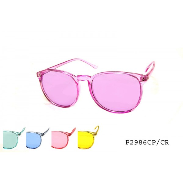 COLORFUL PLASTIC COLOR LENS SUNGLASS