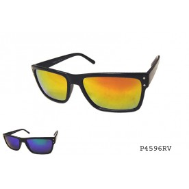 FASHION SQUARE COLORED MIRROR LENS SUNGLASSES| Asia Pacific