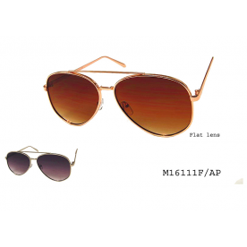 **FLAT LENS** AVIATOR SUNGLASSES